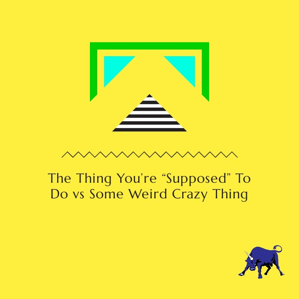 TheThingYoureSupposed