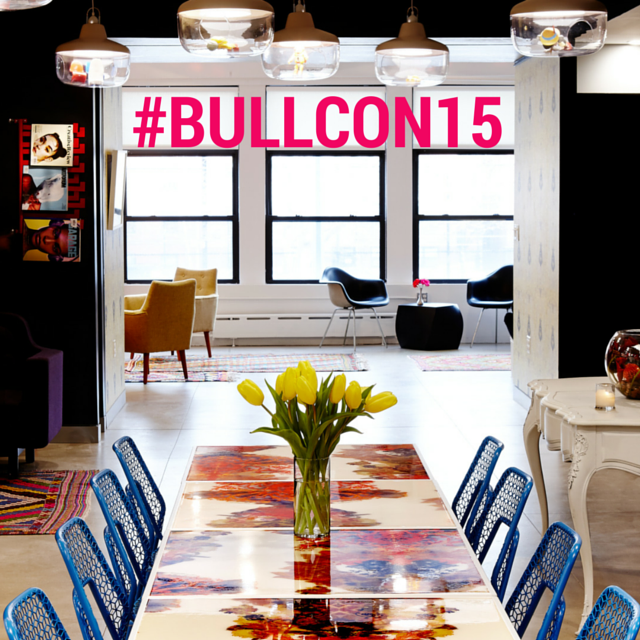 BullCon blue chairs