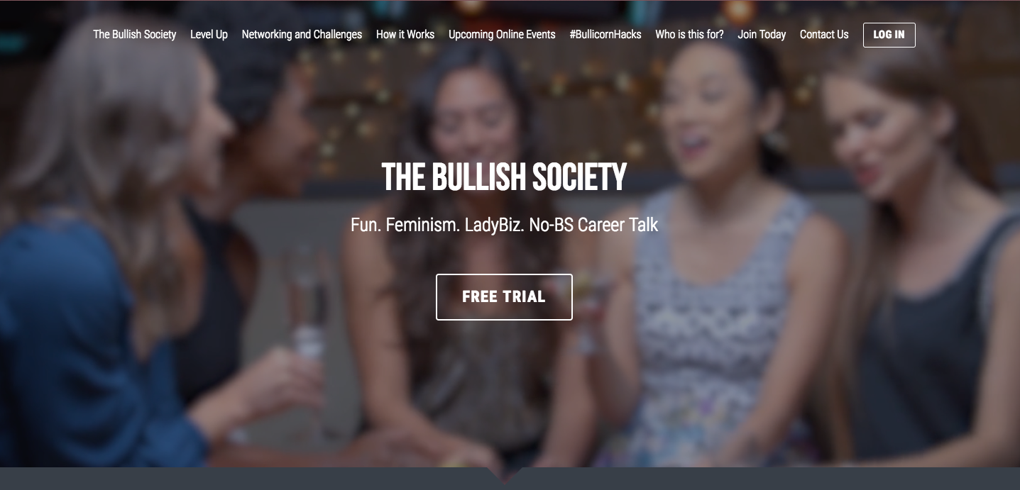 Join The Bullish Society to boost your career and network like a boss.