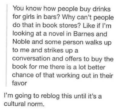 buy a woman a book