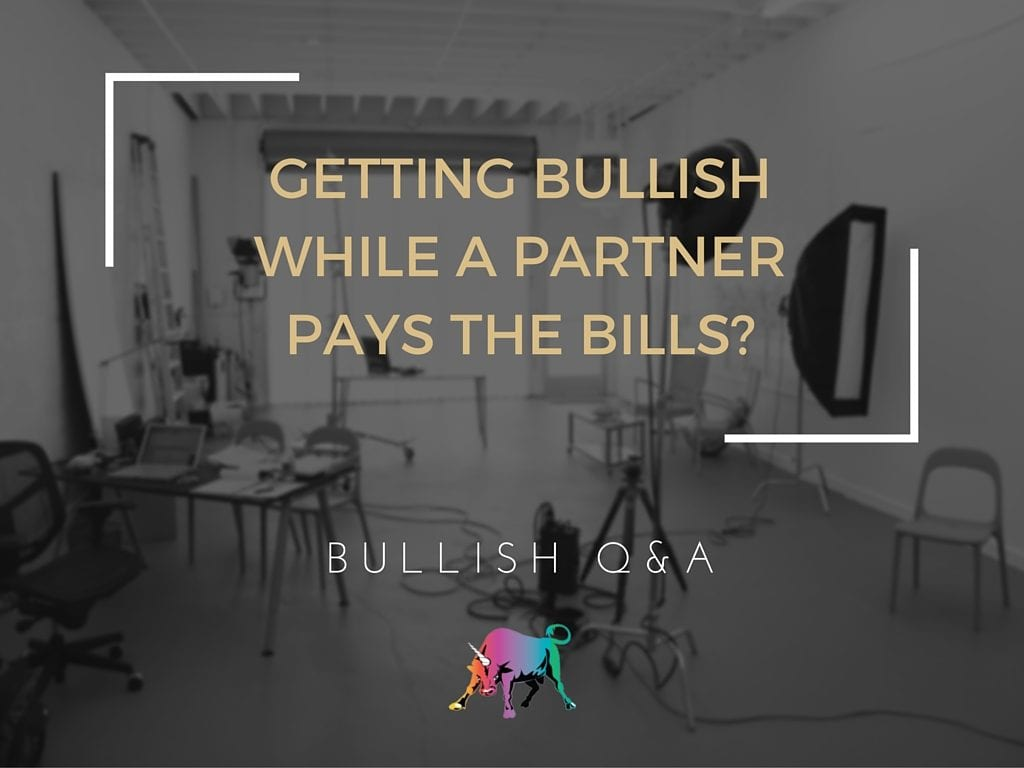 getting Bullish While a Partner Pays the Bills-