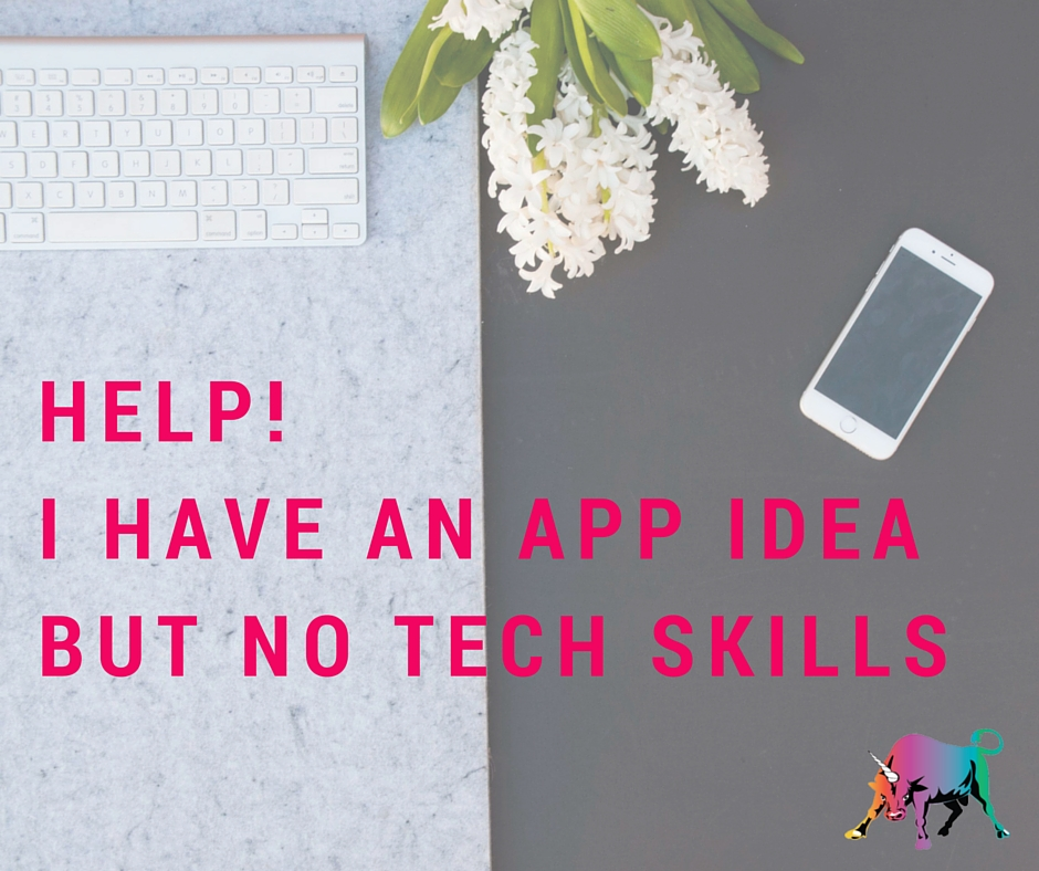 HELP! I have an app idea but no tech skills