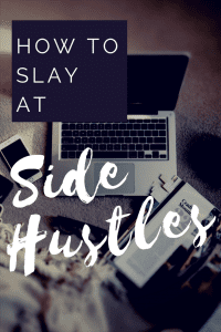 Learn how to start your own business. This Side Hustle webinar by Jennifer Dziura will set you up to slay at side hustles