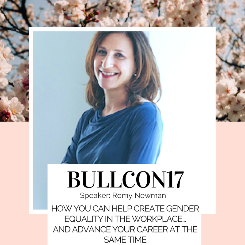 Romy Newman from FairyGodBoss will be joining us at this year's Bullish Conference