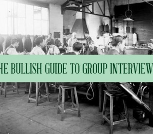 "Bullish: How to Win a (What Fresh Hell Is This?) ""Group Interview"""