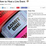 Bullish on DailyWorth…How to Host a Live Event