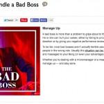 Bullish on DailyWorth…How to Handle a Bad Boss