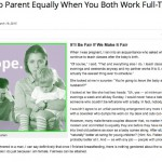 Bullish on Daily Worth…How to Parent Equally When You Both Work Full-Time